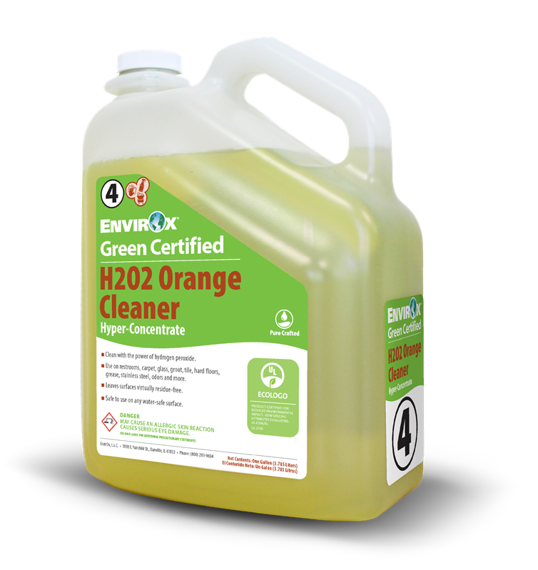 H2o2 Orange Cleaner Hyper Concentrate Envirox
