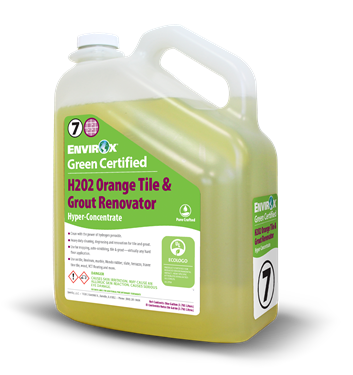 H2O2 Orange Tile & Grout Renovator Hyper-Concentrate