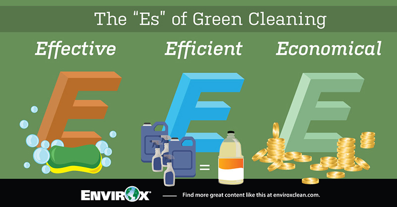 """The """"Es"""" of Green Cleaning"""
