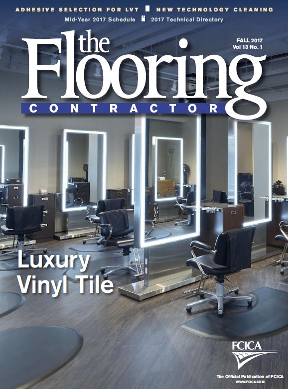 The Flooring Contractor Magazine cover
