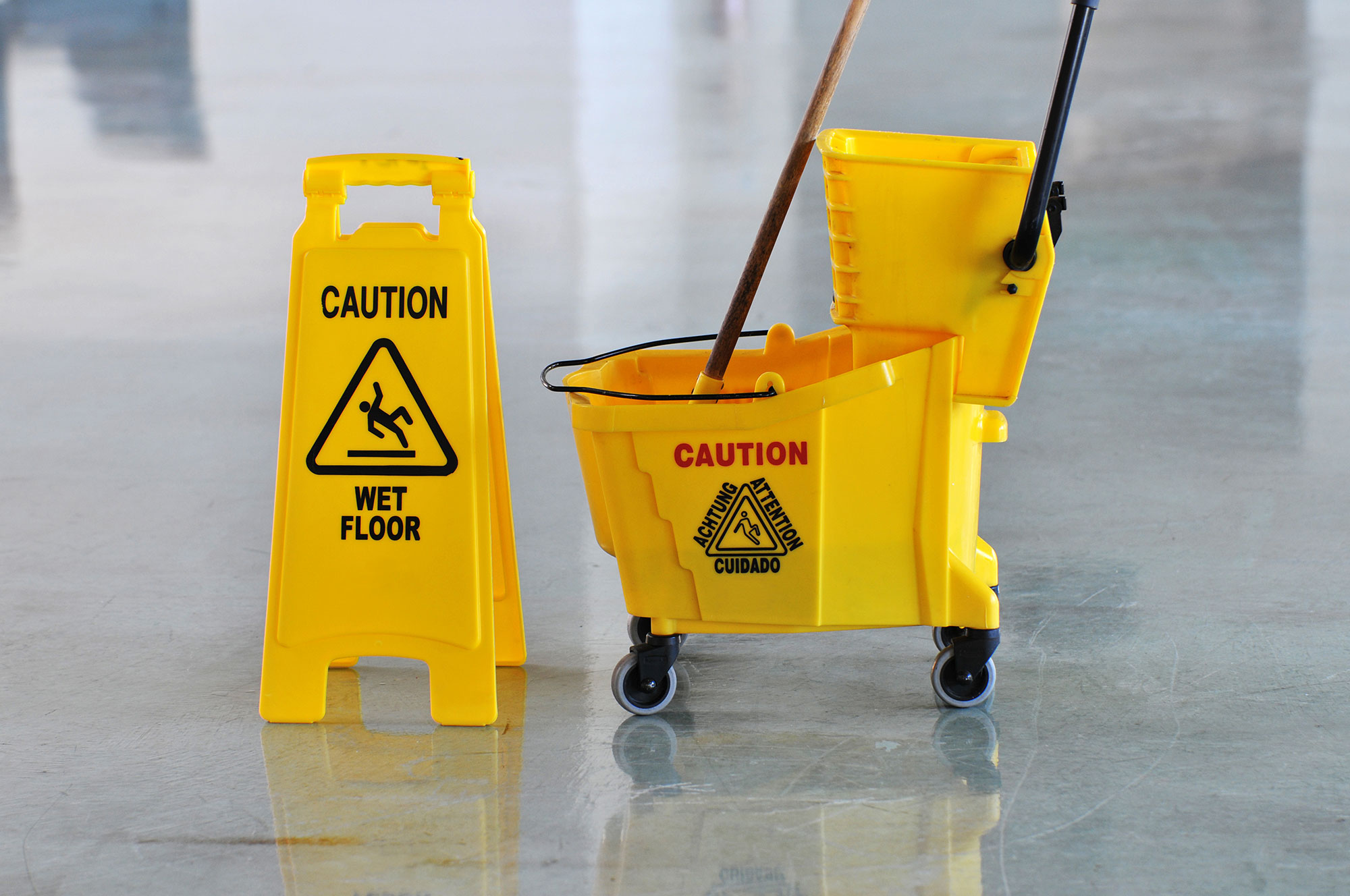 Slip and fall accidents account for 8 million hospital visits a year