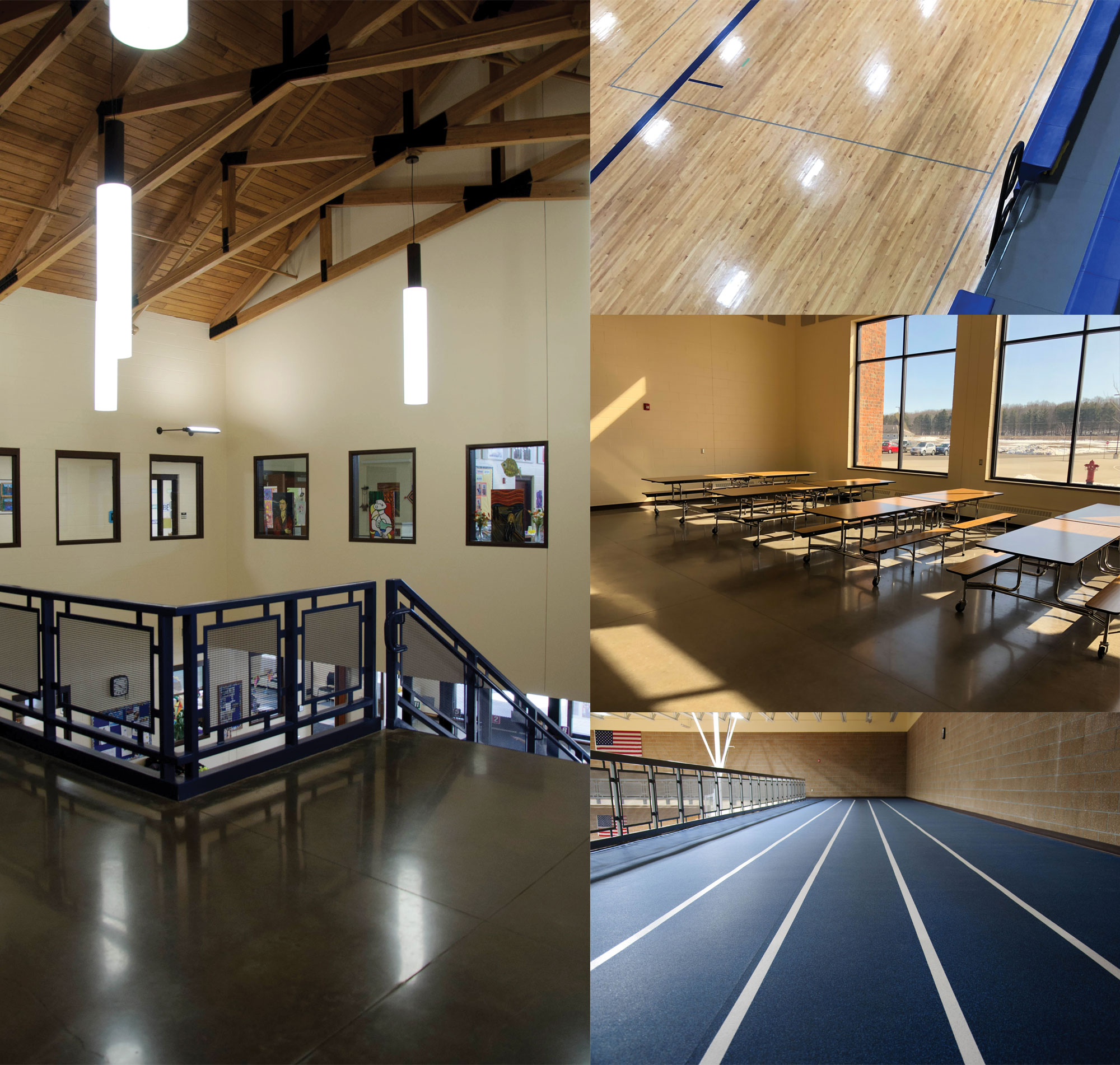 Interior of Cameron Middle School