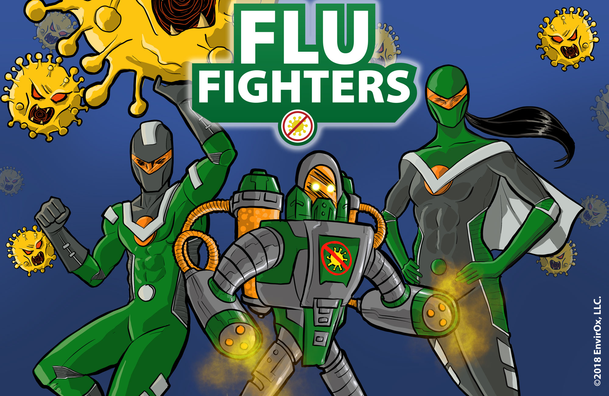Flu Fighters: Protecting Schools Again An Unseen Menace