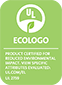 ECOLOGO certification